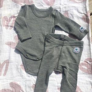 Ella's Wool Merino Long Underwear